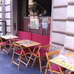 Photo taken at L'Osteria di Cicerone by Daniela M. on 5/2/2012