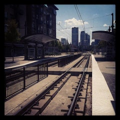 Photo taken at Baylor Medical Center Station (DART Rail) by Paula R. on 8/5/2012