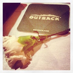 Photo taken at Outback Steakhouse by Frances P. on 2/14/2012