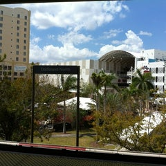 Photo taken at MDT Metrorail - Dadeland North Station by Marcelo M. on 4/5/2012