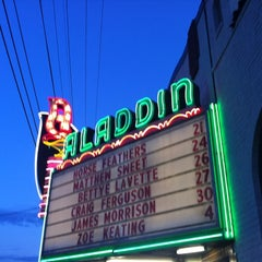 Photo taken at Aladdin Theater by Celso O. on 4/22/2012