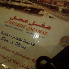 Photo taken at مغل محل by Talal A. on 2/14/2012