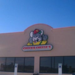 Photo taken at Chuck E. Cheese's by Heather H. on 2/12/2012
