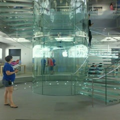 Photo taken at Apple Store, Boylston Street by K C. on 5/26/2012