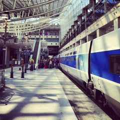Photo taken at Gare SNCF d'Aéroport Charles de Gaulle TGV by That John on 8/29/2012