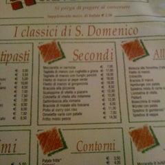 Photo taken at Pizzeria San Domenico by Roberta R. on 6/2/2012