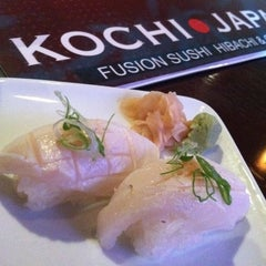 Photo taken at Kochi Japan Hibachi & Grill by Heinz G. on 12/29/2011