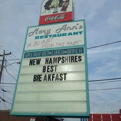 Photo taken at Mary Ann's Diner by Tim P. on 11/16/2011