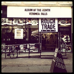 Photo taken at Rough Trade East by Alexander on 11/2/2011