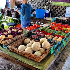 Photo taken at Ithaca Farmers Market by Joe C. on 9/1/2012