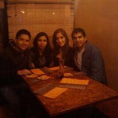Photo taken at PiscoBar Restobar by Juan Carlos C. on 9/3/2011