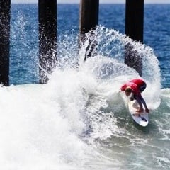Photo taken at Vans US Open of Surfing 2013 by Jude L. on 8/6/2012