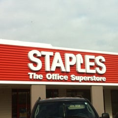 Photo taken at Staples by Moneer K. on 1/18/2012