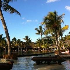 Photo taken at Trou aux Biches Resort & Spa by Karina T. on 11/26/2011