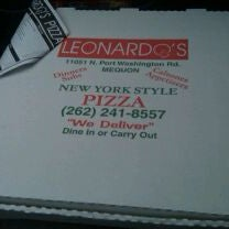 Photo taken at Leonardo's Pizza by Scott M. on 3/3/2011