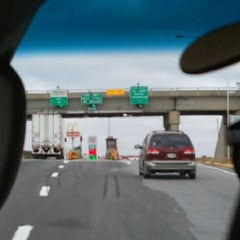 Photo taken at Toll Plaza by Tabitha C. on 11/5/2011