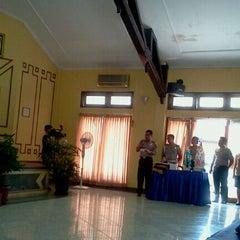 Photo taken at Poltabes Palembang by Roberth D. on 4/18/2011