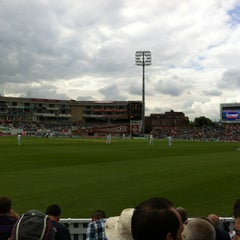 Photo taken at The Kia Oval by Russell E. on 7/20/2012