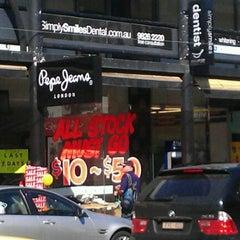 Photo taken at Pepe Jeans London by Anantaya W. on 9/18/2011