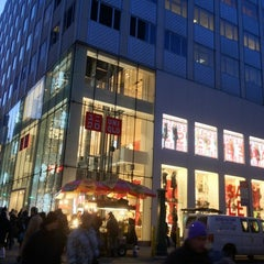 Photo taken at UNIQLO 5th Ave by Mikko T. on 1/3/2012
