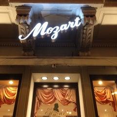 Photo taken at Café Mozart by CanSAKA on 9/4/2012