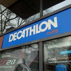 Photo taken at Decathlon by Jayguer V. on 3/2/2012