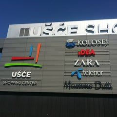Photo taken at Ušće Shopping Center by Nemanja S. on 7/2/2012
