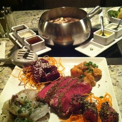 Photo taken at The Melting Pot by Natalia M. on 5/13/2012