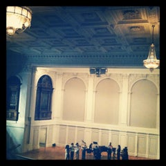 Photo taken at American Academy Of Arts And Letters by Tiffany K. on 6/14/2012