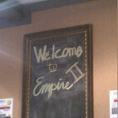 Photo taken at Empire Pizza II Restaurant & Bar by Christy R. on 11/5/2011