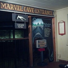 Photo taken at Marvel Cave by David L. on 9/2/2012