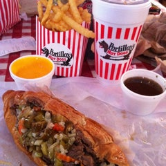 Photo taken at Portillo's by Brian G. on 6/22/2012