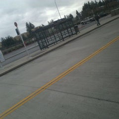 Photo taken at S. Everett Park & Ride by Andrew C. on 3/18/2012