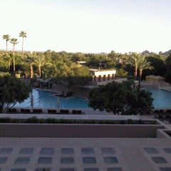 Photo taken at The Phoenician by Lisa K. on 7/18/2012
