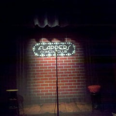 Photo taken at Flappers Comedy Club by Edward P. on 12/16/2011