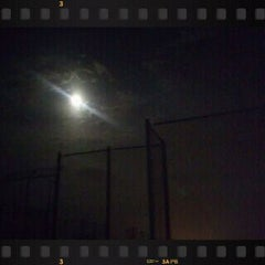 Photo taken at 新宝満川地区野球場 by GATTACA on 10/15/2011