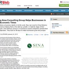 Photo taken at Sina Advisory Group by Sina E. on 1/24/2012