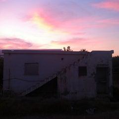 Photo taken at Bellapais by Derin E. on 1/2/2012