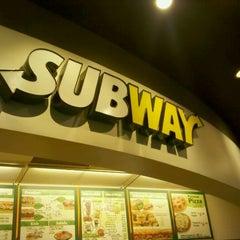 Photo taken at Subway by Sarah M. on 1/8/2012