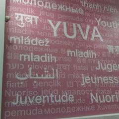 Photo taken at Yuva Threading Salon by Munchie B. on 9/13/2011