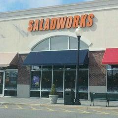Photo taken at Saladworks by Jason P. on 9/27/2011