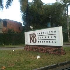 Photo taken at Instituto Ricardo Brennand by Mayara R. on 8/1/2012