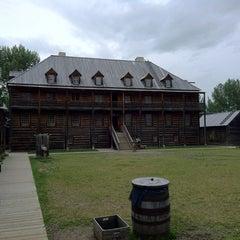 Photo taken at Fort Edmonton Park by Gustavo M. on 7/3/2012