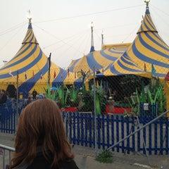 Photo taken at Ovo Cirque du Soleil by Adrian T. on 3/23/2012