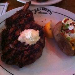 Photo taken at Saltgrass Steak House by Gerald H. on 5/2/2012
