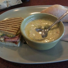 Photo taken at Panera Bread by Veronica R. on 4/5/2012