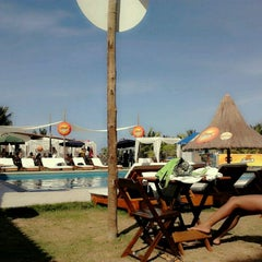 Photo taken at Paparazzi Beach Club by Daniele C. on 3/18/2012