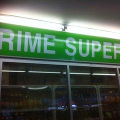 Photo taken at Prime Supermarket by Grag F. on 4/18/2012