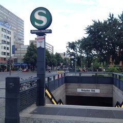 Photo taken at S Anhalter Bahnhof by I B. on 7/15/2012