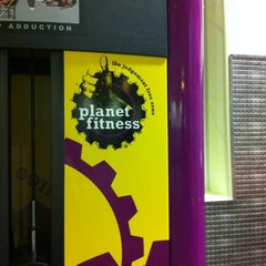 Photo taken at Planet Fitness by Jessica V. on 5/18/2012